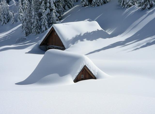 big snow roof