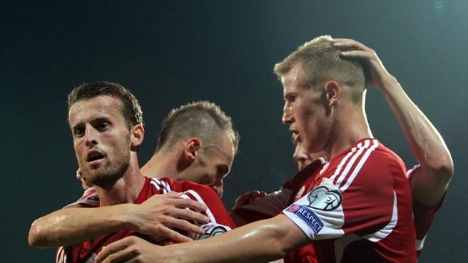 Shqipëri 2 – 1 Armeni në Stadiumin Shqiptar Elbasan Arena – fitore për Shqipërinë