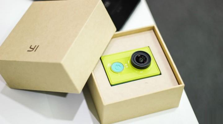 Xiaomi Yi action camera ja si prezantohet ne kuti – video