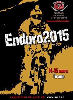 Enduro 2015 – kampionati kombetar ne Tirane me 14-15 mars