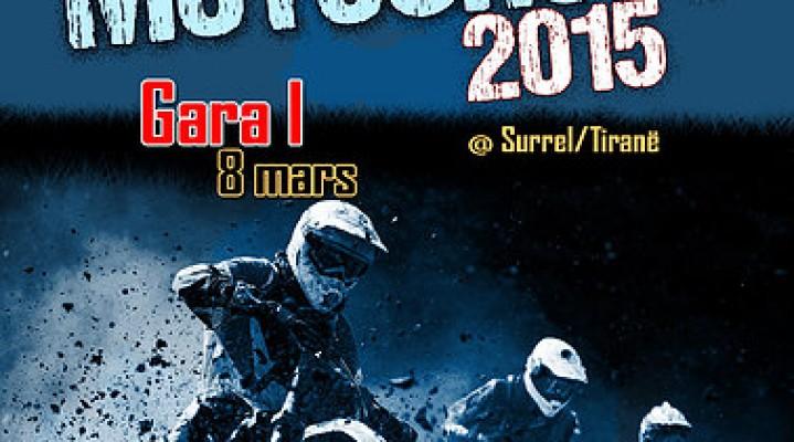 Gara e motocross-ve në Tiranë me 8 mars 2015