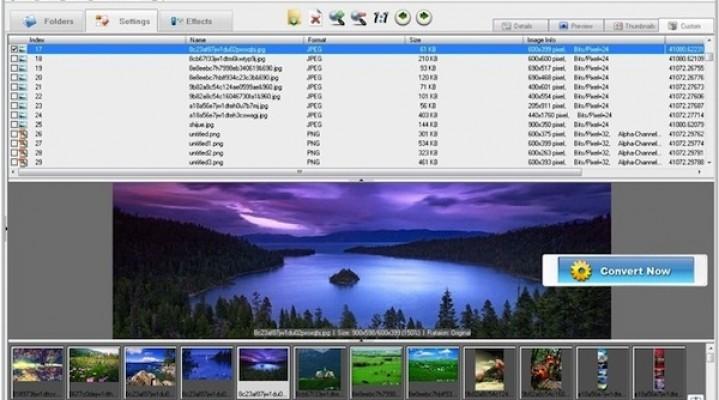 Imagecool – një program që përpunon 500 formate të ndryshme imazhesh