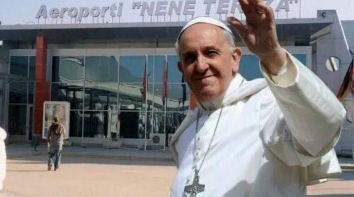 Papa Francesco viziton Shqiperine 21/09/2014