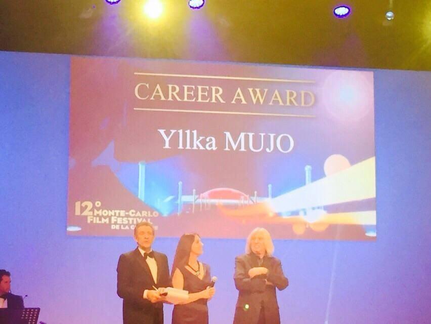 Yllka Mujo, nderohet me çmimin e karrierës në Festivalin e Filmit të Komedisë në Monte Karlo